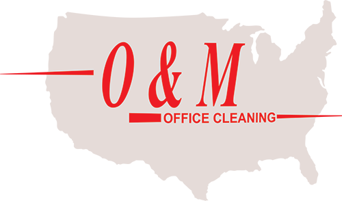 O&M Office Cleaning Logo